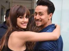 Tiger Shroff with his girlfriend
