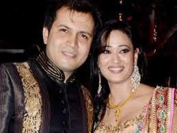 Shweta Tiwari with her husband Abhinav