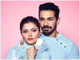 Rubina Dilaik with her husband Abhinav