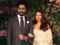 Aishwarya Rai with her husband Abhishek