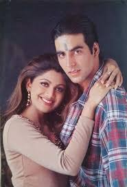 Shilpa Shetty with her ex-boyfriend Akshay