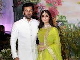 Ranbir Kapoor with his girlfriend Alia