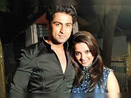 Adaa Khan with her boyfriend