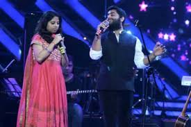 Arijit Singh with his sister