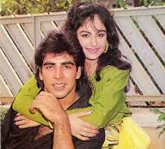 Akshay Kumar with his ex-girlfriend Ayesha