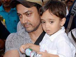 Aamir Khan with her son Azad