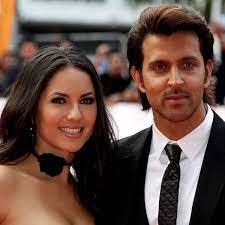 Hrithik Roshan with his ex-girlfriend Barbara