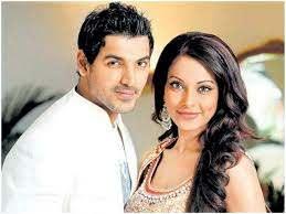 John Abraham with his ex-girlfriend Bipasha