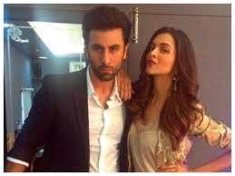 Ranbir Kapoor with his ex-girlfriend Deepika