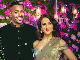 Hardik Pandya with his ex-girlfriend Elli
