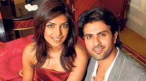 Priyanka Chopra with her ex-boyfriend Harman