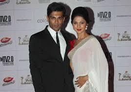 Karan Singh Grover with his ex-wife Jennifer