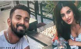 Nidhhi Agerwal with her boyfriend K L Rahul