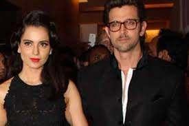Hrithik Roshan with his ex-girlfriend Kangana