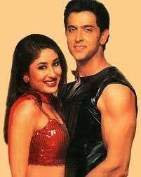 Hrithik Roshan with his ex-girlfriend Kareena
