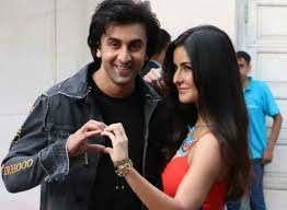 Ranbir Kapoor with his ex-girlfriend Katrina