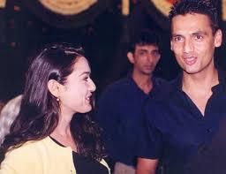 Preity Zinta with her ex-boyfriend Marc