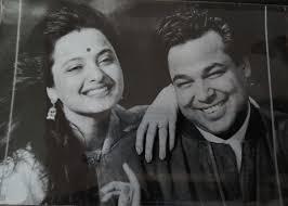 Rekha with her ex-husband Mukesh