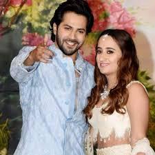 Varun Dhawan with his girlfriend Natasha