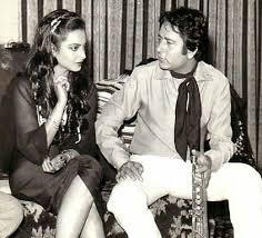 Rekha with her ex-boyfriend Navin