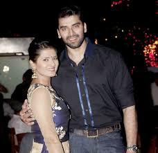 Kratika Sengar with her husband Nikitin