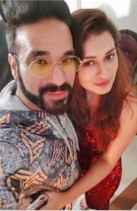 Payal Rajput with her boyfriend