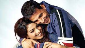 Akshay Kumar with his ex-girlfriend Priyanka