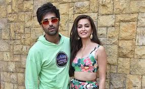 Kriti Kharbanda with her boyfriend Pulkit