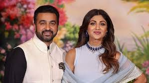 Shilpa Shetty with her husband Raj