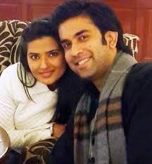 Kratika Sengar with her ex-boyfriend Rajeev