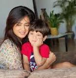 Shweta Tiwari with her son