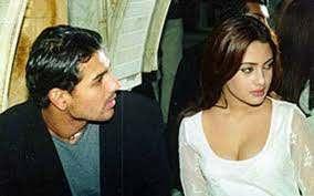 John Abraham with his ex-girlfriend Riya