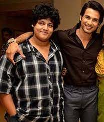 Shahid Kapoor with his brother