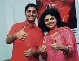 Arijit Singh with his ex-wife Ruprekha