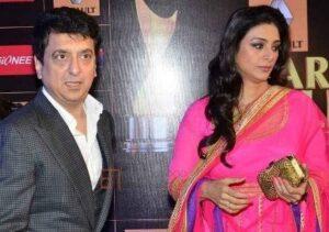 Tabu with her ex-boyfriend Sajid