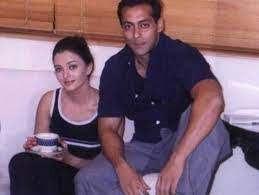 Aishwarya Rai with her ex-boyfriend Salman