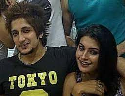 Pavitra Punia with her ex-boyfriend Salman