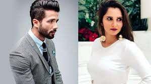 Shahid Kapoor & Sania Mirza