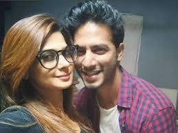 Jennifer Winget with her boyfriend Sehban