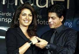 Priyanka Chopra with her ex-boyfriend Shah Rukh