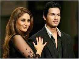 Kareena Kapoor with her ex-boyfriend Shahid