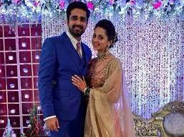 Avinash Sachdev with his wife Shalmalee