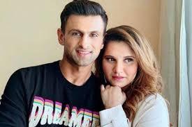 Sania Mirza with her husband Shoaib