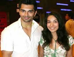 Karan Singh Grover with his ex-wife Shraddha