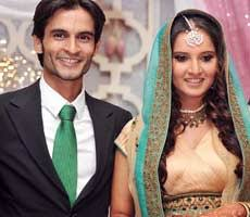 Sania Mirza with her Ex-fiance Sohrab