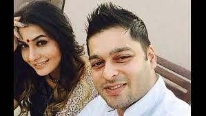 Pavitra Punia with her ex-boyfriend Sumit