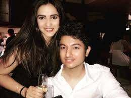 Jasmin Bhasin with her ex-boyfriend Suraj