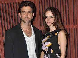 Hrithik Roshan with his ex-wife Sussanne
