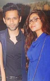 Rahul Vaidya with his ex-girlfriend Syesha