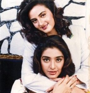 Tabu with her sister